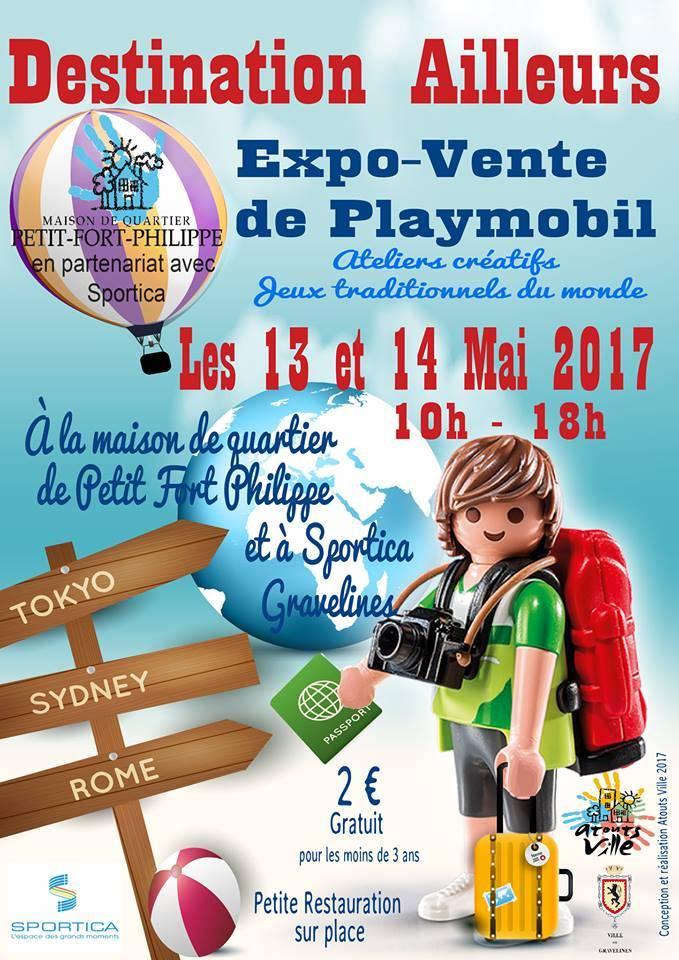 Salon du b b sportica gravelines for Playmobil 6445