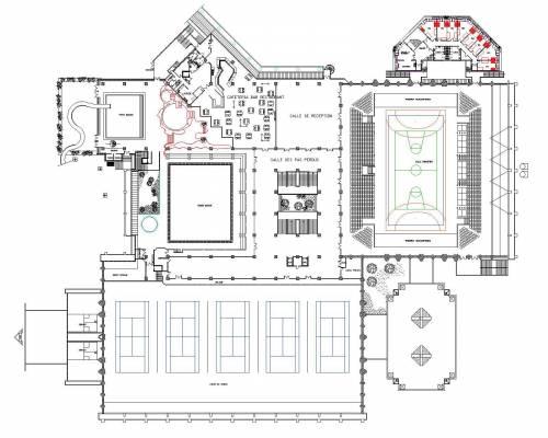 Plan de sportica gravelines for Piscine sportica