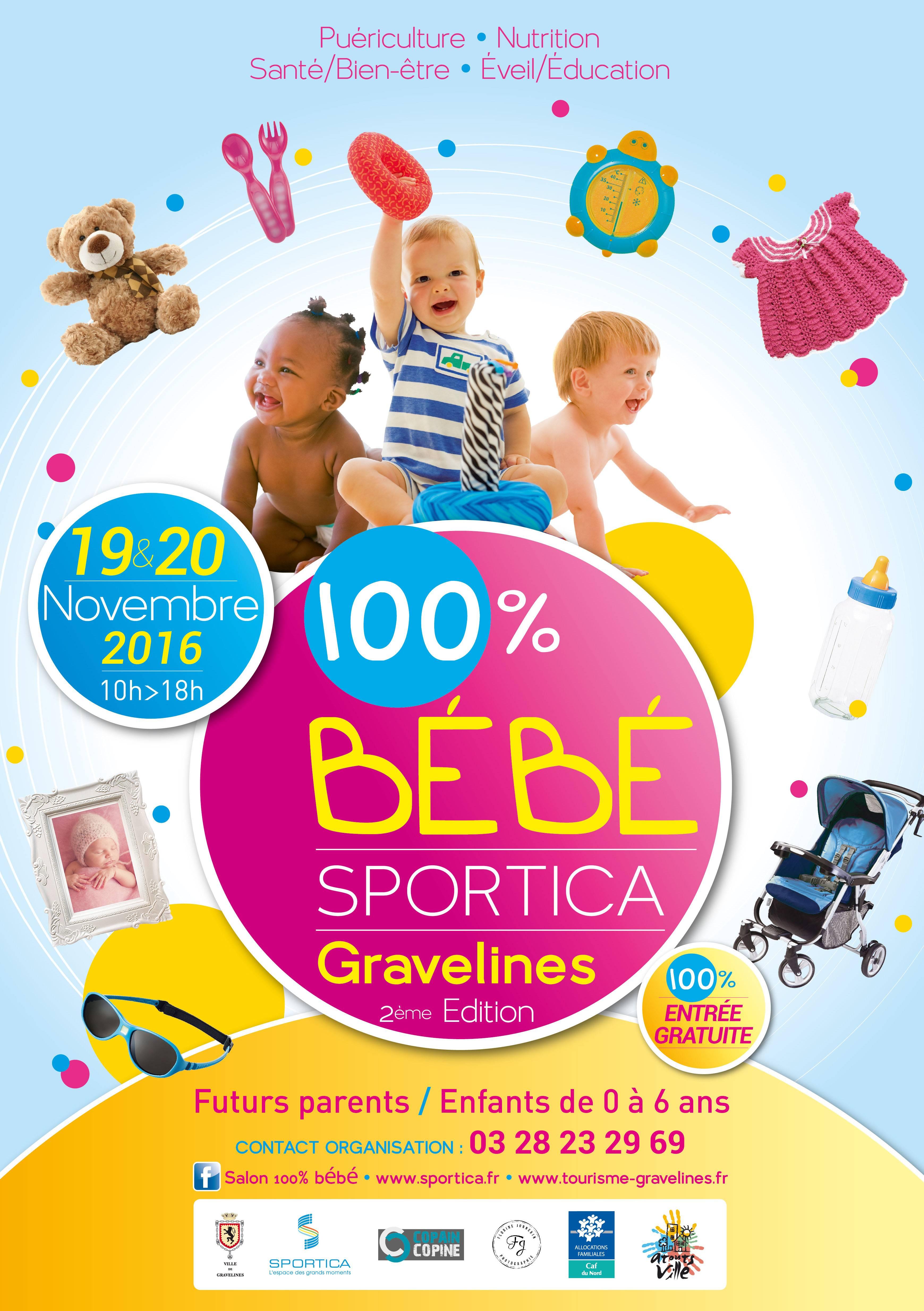 Salon du b b sportica gravelines for Piscine sportica