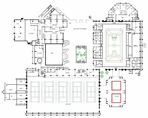 Plan de sportica gravelines for Sportica piscine