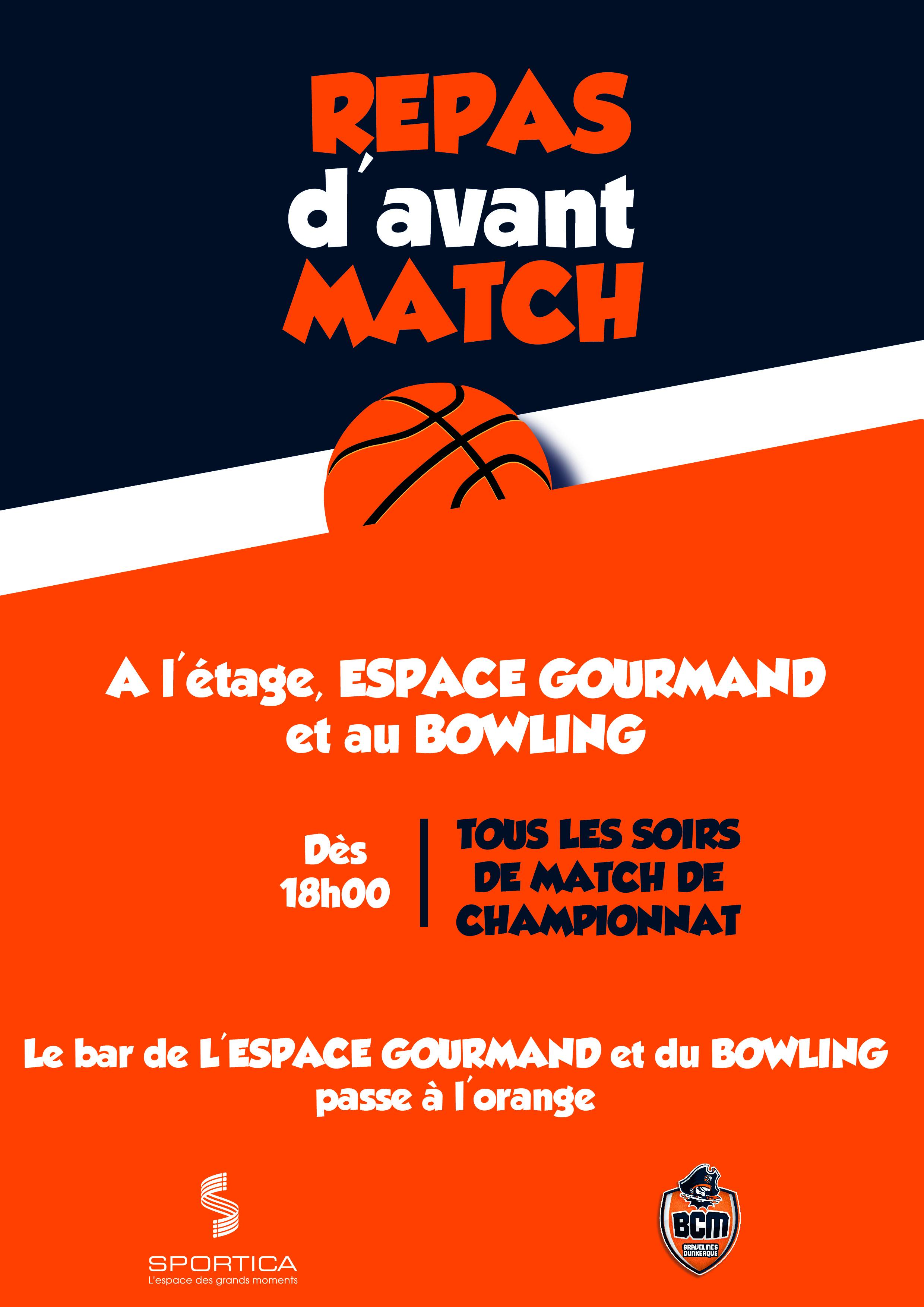 Match Basket-Club Maritime