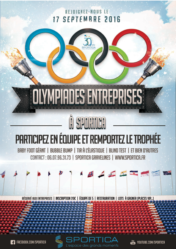 Olympiades entreprises sportica gravelines for Sportica piscine