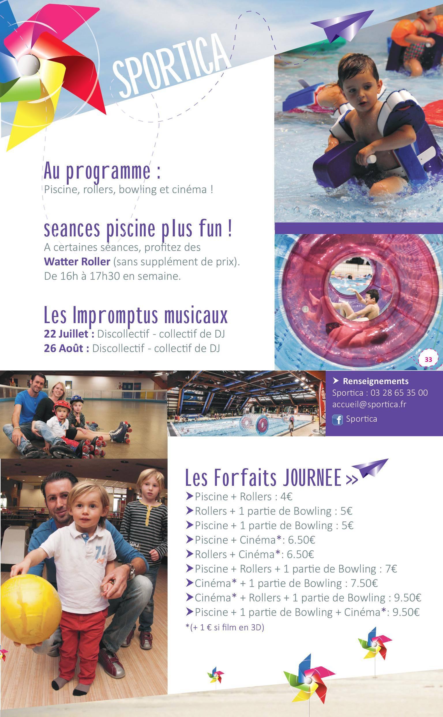 Saison estivale sportica sportica gravelines for Sportica piscine