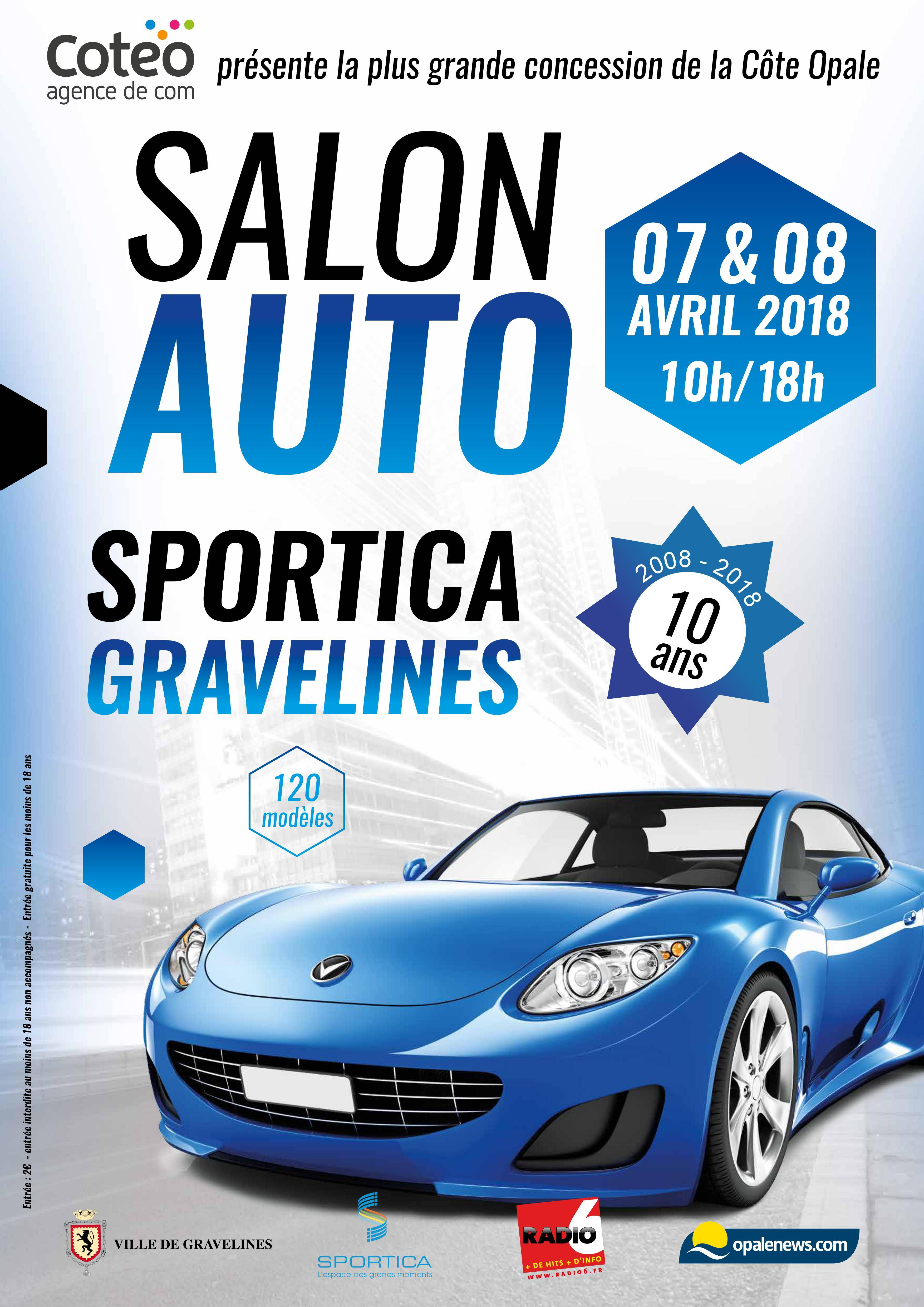 The work 39 awards 3e dition sportica gravelines for Salon de l auto avignon