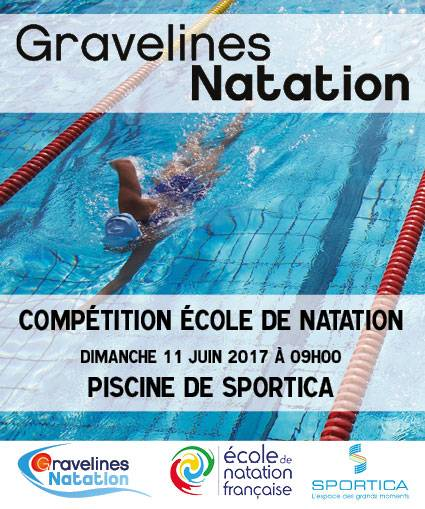 Comp tition ecole natation sportica gravelines for Sportica piscine